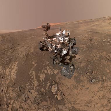 10 niezwykłych zdjęć wykonanych na Marsie