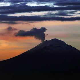 Wulkan Popocatépetl