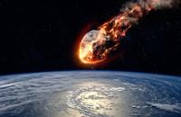 asteroida uderzająca w Ziemię