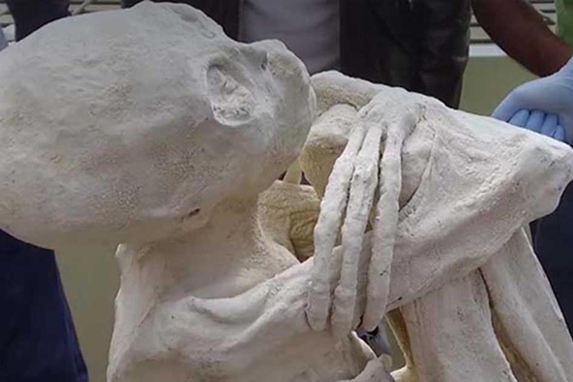 Mumie z Nazca
