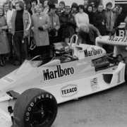 James Hunt bolid