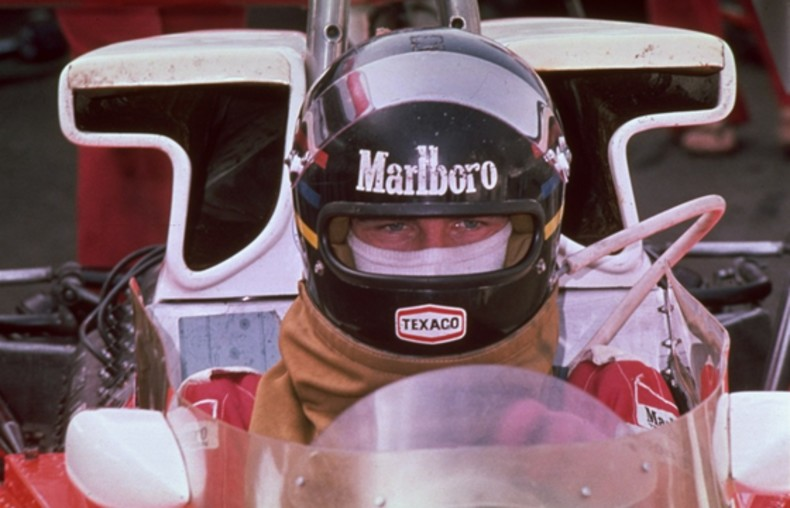 James Hunt kask