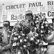 James Hunt podium