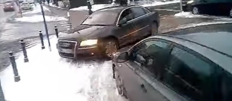 Amatorzy jazdy po chodnikach