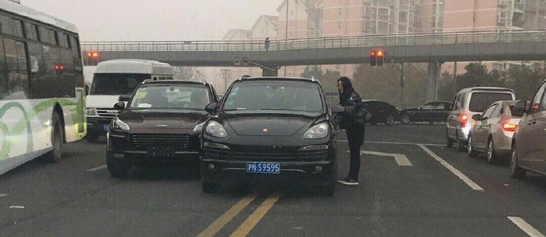 Chiński klon Macana uderzył w Porsche Cayenne