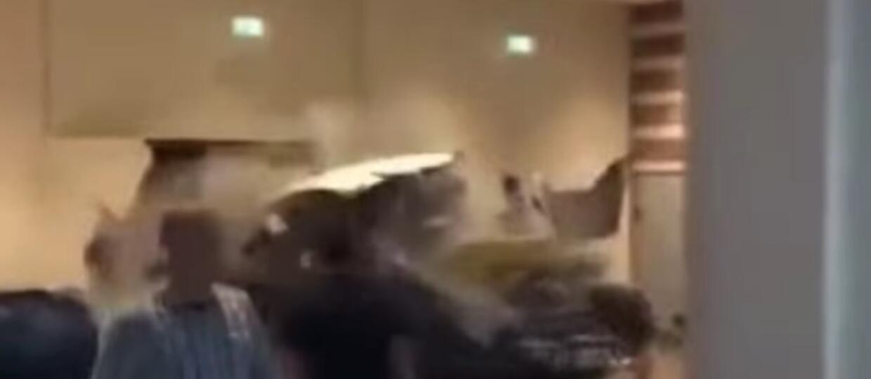 Clarkson prowadził czołg w centrum handlowym
