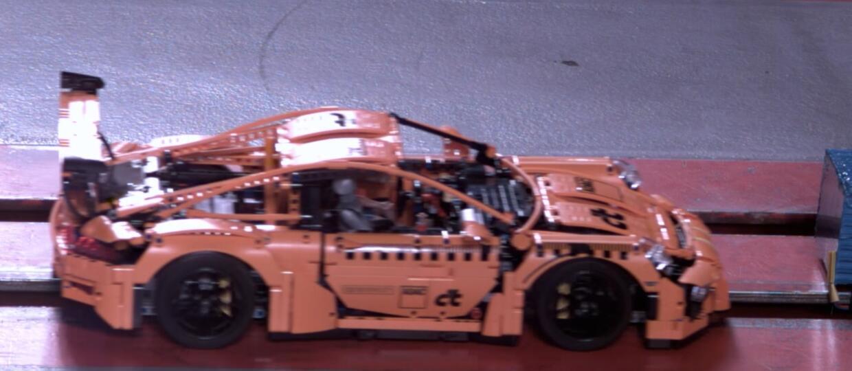 Crash test wyjątkowego Porsche 911 GT3 RS