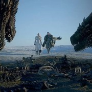 Daenerys, Jon Snow i smoki
