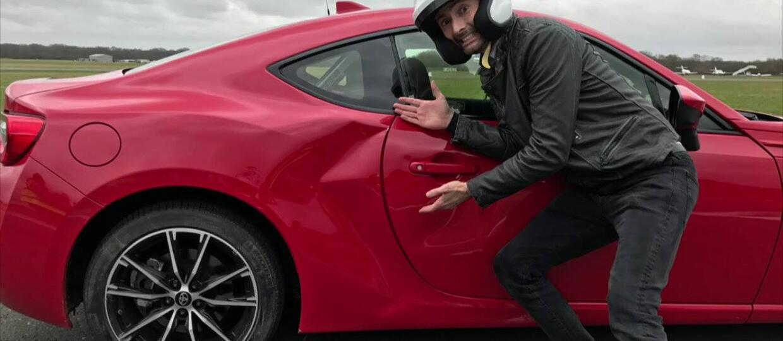 """""""Doktor Who"""" uszkodził Toyotę GT86 w Top Gear"""