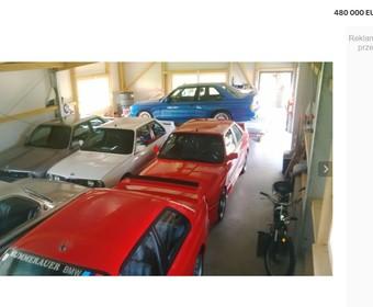 Garaż pełen klasycznych BMW wystawiony na sprzedaż