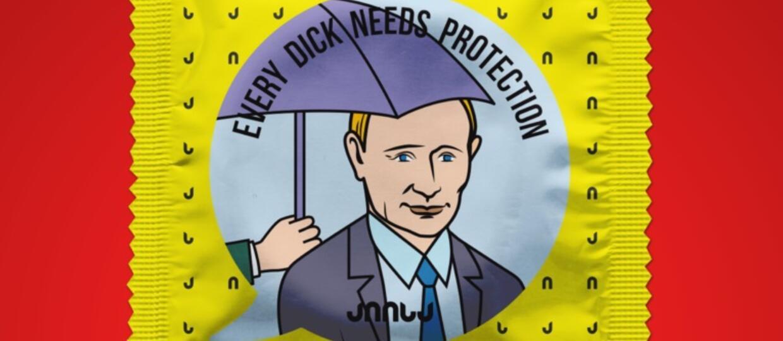 prezerwatywa z Putinem