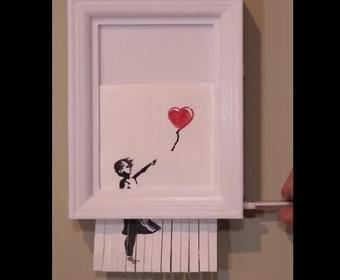 Jak stworzyć niszczarkę Banksy'ego