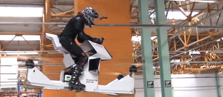 Latający motocykl zaprojektowany przez Rosjan