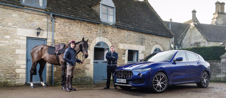 Maserati Levante kontra koń wyścigowy