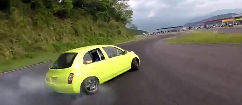 Micra do driftu prosto z Japonii