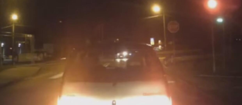 Ochroniarze dorwali pijanego kierowcę