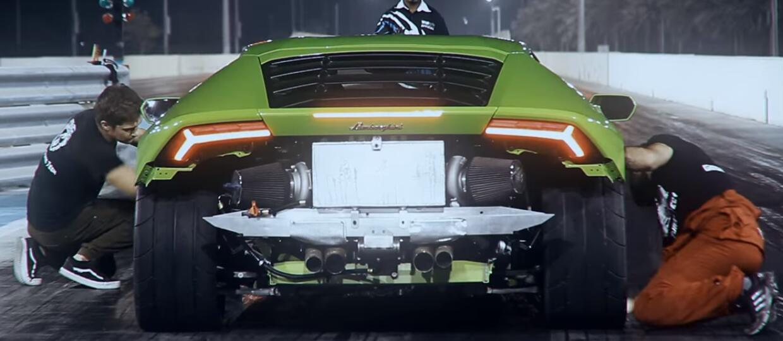Pierwsze testy Lamborghini Huracan TwinTurbo GTT-X