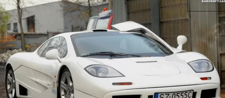 Polak zbudował replikę McLarena F1