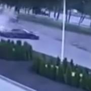 Porsche 911 wpada w poślizg podczas jazdy testowej