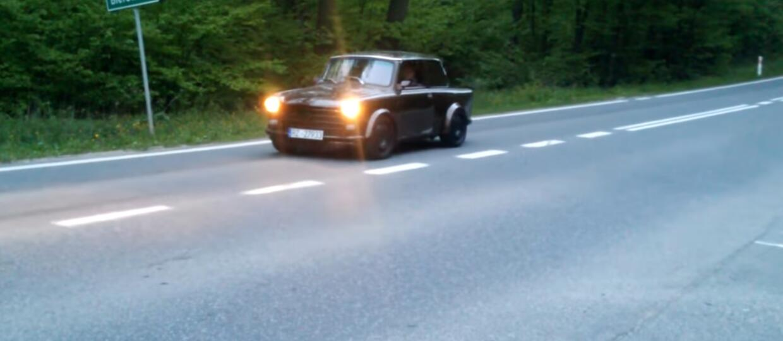 Trabant z silnikiem od Audi TT? Taki projekt powstał w Rzeszowie
