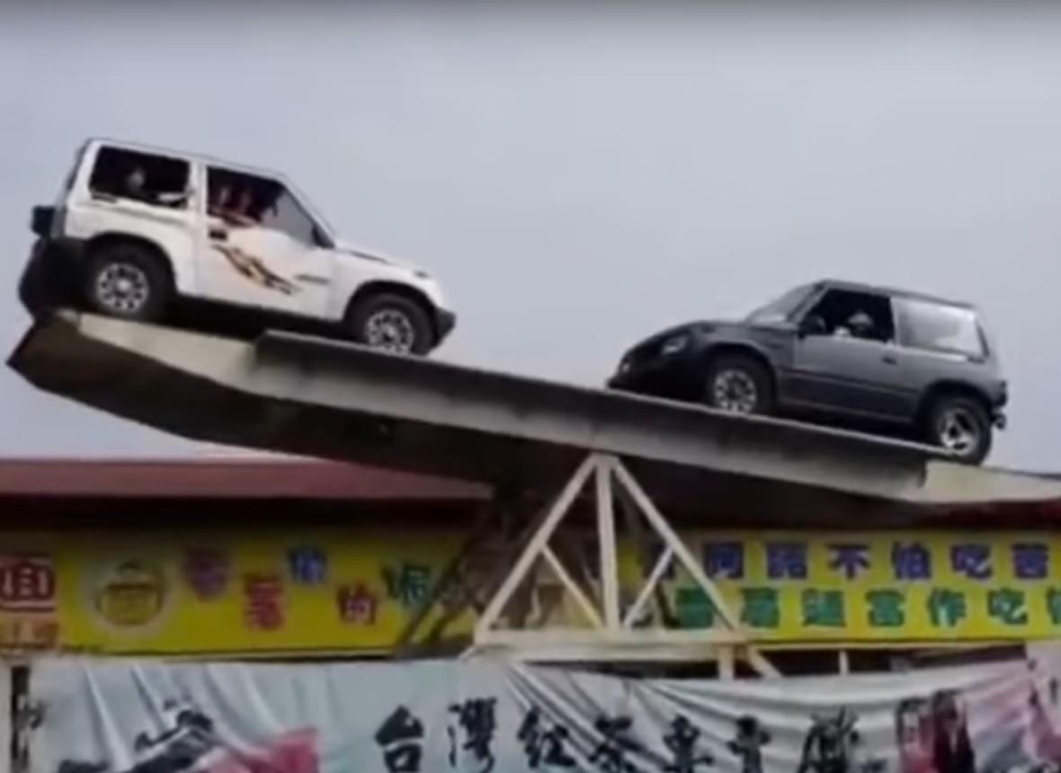 Tajwańska huśtawka dla aut