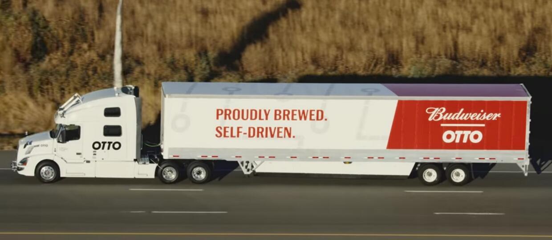Uber nielegalnie rozwoził piwo samojezdną ciężarówką. Czy będzie kara?