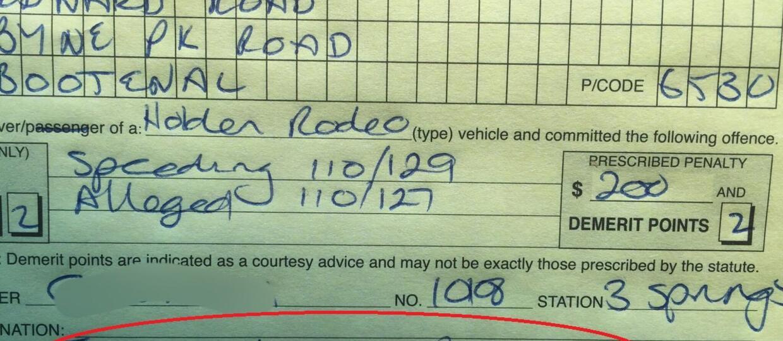 Wymówka kierowcy: Wiatr mnie pchał