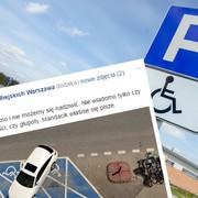 Zaparkował na dwóch miejscach dla osób niepełnosprawnych, choć nie miał żadnych uprawnień