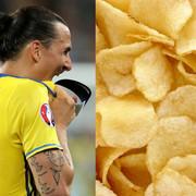 Zlatan Ibrahimović je polskie chipsy w reklamie z okazji Mundialu 2018