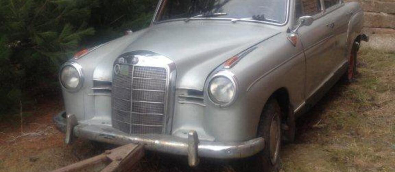 Znalazł ogłoszenie sprzedaży auta, które myślał, że ma w garażu