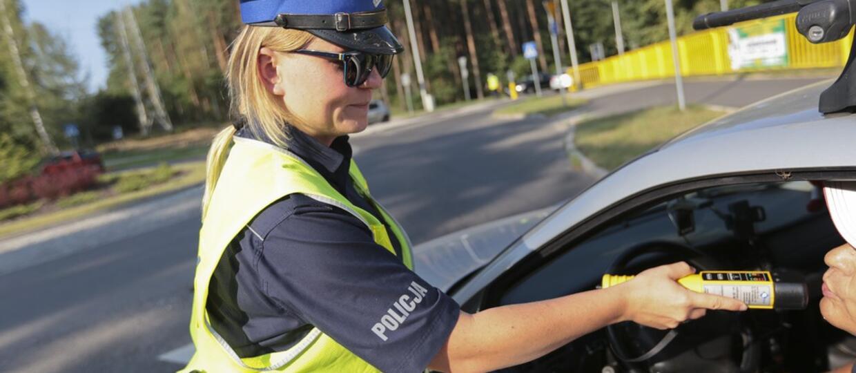 Alkomaty polskiej policji bezużyteczne poniżej -5 stopni Celsjusza