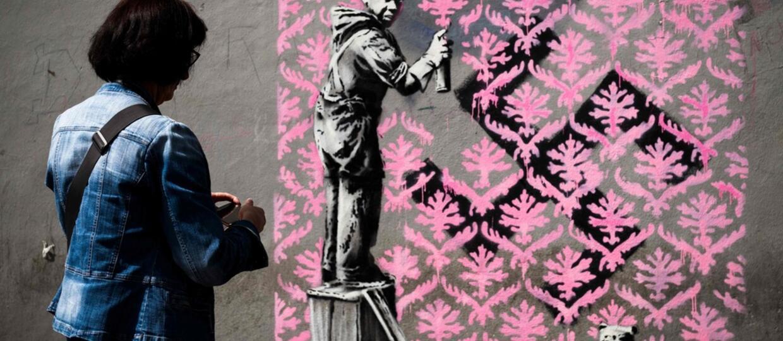 Banksy w Paryżu