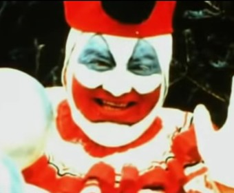 "Foto: kadr z wideo ""John Wayne Gacy (The Serial Killer Clown)"