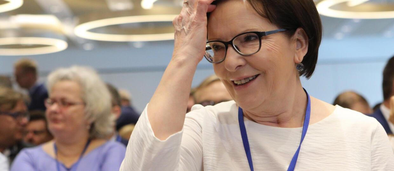 Ewa Kopacz z Biologiczną Bzdurą Roku