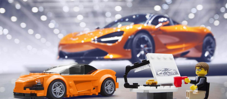 McLaren 720S z klocków Lego