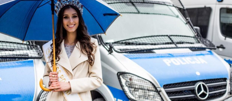 Miss Polski i policja przypominali o zasadach bezpiecznej jazdy