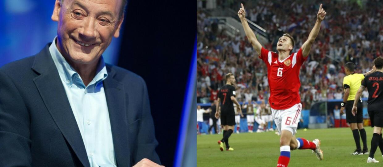 Czy Dariusz Szpakowski sprzyjał Rosji, komentując mecz mundialu? Tak twierdzą prawicowi dziennikarze