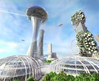 Zbudujmy mieszkania z grzybów na Księżycu i Marsie