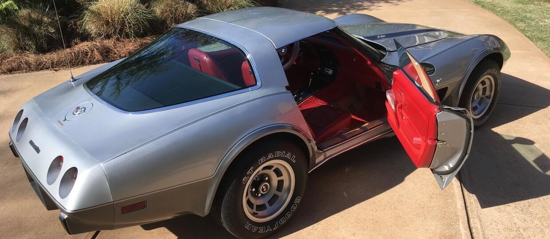 Nieużywana Corvette z 1978 na sprzedaż