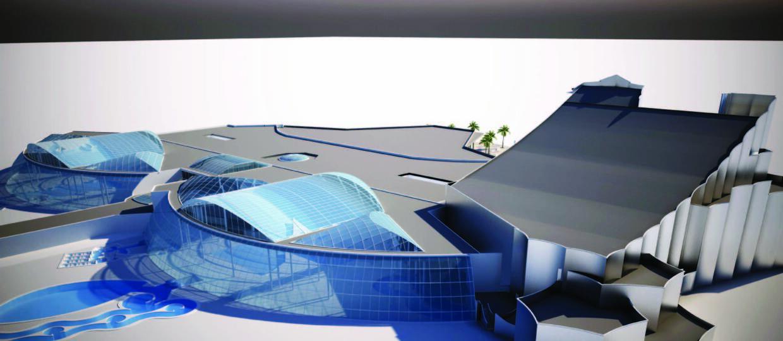 Pod Warszawą powstaje największy aquapark w Europie Środkowo-Wschodniej
