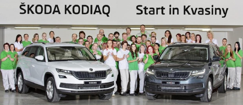 Skoda rozpoczęła produkcję Kodiaqa