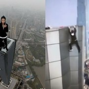 Sławny performer, który wspinał się po budynkach, spadł z 62. piętra wieżowca. Do sieci trafiło przerażające wideo