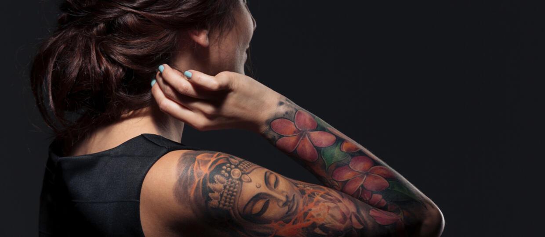 Tatuaże Damskie Wzory Tatuaży Dla Kobiet Na Ręce Na Karku
