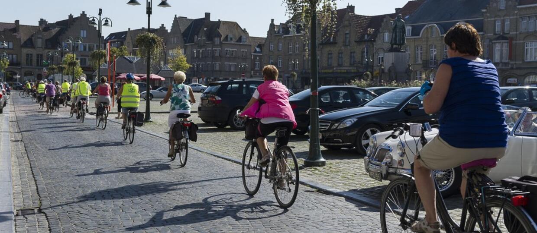 """Trwa akcja """"Kręci mnie bezpieczeństwo"""" mająca na celu podniesienie bezpieczeństwa rowerzystów"""