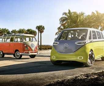 """VW wraca do przyszłości elektrycznym """"Ogórkiem"""""""