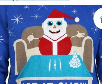 Walmart zaczął sprzedawać swetry ze świętym Mikołajem i kokainą