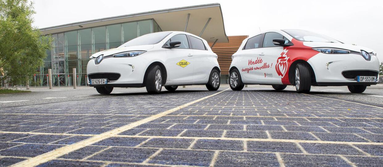We Francji powstała droga solarna