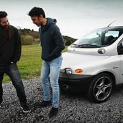 Zobacz, jak Fiatem Multiplą ścigają się po wymagających zakrętach Nurburgringu