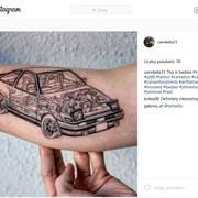 TOP 20 najlepiej wykonanych tatuaży motoryzacyjnych