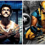 """1. Wolverine – seria """"X-Men"""", """"Wolverine"""", """"Logan: Wolverine"""", 2000 - 2017"""